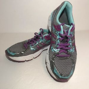 ASICS Gel Excite 3 Running Shoes Women 8 Gray Teal